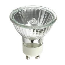 platinum 50w 120v mr16 exn gu10 flood w front glass halogen light
