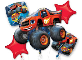 100 Monster Truck Decorations Blaze And The Machines Party Supplies Sweet Pea