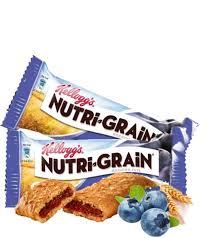 Nutri Grain Bars Blueberry Vending Machine Snacks