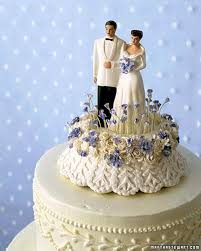 Cake Toppers Vintage Bride And Groom