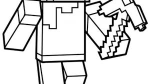 Printable Lovely Idea Minecraft Coloring Sheet 40 Pages Alex Page Sheets Steve Math Zombie