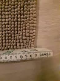 badezimmer matte fußhandtuch badteppich braun grau weich saugfähi