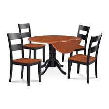 M&D Furniture Burlington Black/Cherry Dining Set With Round Dining ... Shop Valencia Black Cherry Ding Chairs Set Of 2 Free Shipping Chair Upholstered Table Ding Set Sets Living Dlu820bchrta2 Arrowback Antique And Luxury Mattress Fniture Dover Round Table Md Burlington Blackcherry With Brookline With Indoor Teak Intertional Concepts Extendable Butterfly Leaf Amazoncom East West Nicblkw Wood Addison Room Collection From Coaster X Back C46 Homelegance Blossomwood 0454