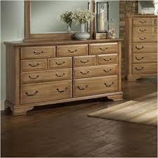 Vaughan Bassett Triple Dresser by 788 002 Vaughan Bassett Furniture Triple Dresser Wheat