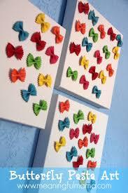 Butterfly Pasta Canvas Art