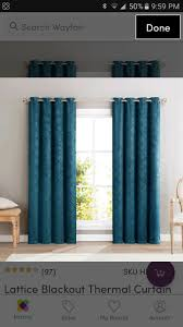 Moroccan Lattice Curtain Panels by 4905 Best Thermal Blackout Curtains Images On Pinterest Blackout