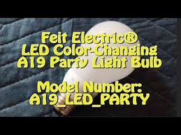 feit electric皰 led color changing a19 light bulb model