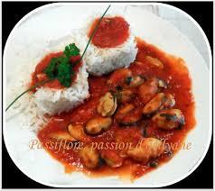 comment cuisiner des moules congel s moules à la provençale tomate sauce piquante passiflore d
