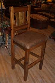 Barn Wood Bar Stool Rustic Pub Reclaimed Cabin