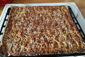 sauerkirsch haferflocken kuchen