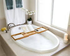 Teak Wood Bathtub Caddy by Wooden Bath Bathtub Caddies Storage Equipment Ebay