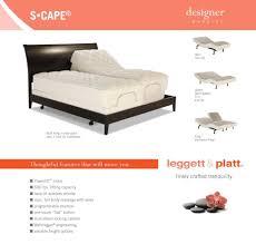 Leggett And Platt Twin Headboards by Amazon Com Adjustables S Cape Adjustable Bed Queen Kitchen U0026 Dining