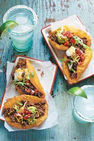 San Antonio Beef Puffy Tacos