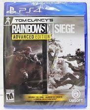siege sony tom clancys rainbow six siege sony playstation 4 ps4 ebay