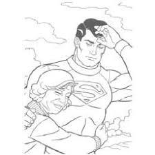 Grandma Hugs Superman Coloring Pages