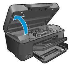 Image Open The Cartridge Access Door