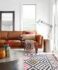 Brown Leather Sofa Living Room Ideas by The 25 Best Distressed Leather Couch Ideas On Pinterest