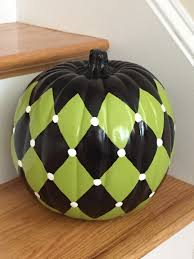 Mackenzie Childs Painted Pumpkins by Painted Pumpkin Black And Lime Green 9
