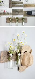 Rustic Milk Bottle Floral Holder