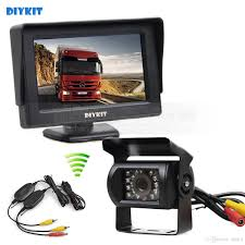 DIYKIT Wireless 4.3inch Car Monitor + Waterproof Rear View Backup ... 7inches 24ghz Wireless Backup Camera System For Trucks Ls7006w Zsmj And Monitor Kit 9v24v Rear View Cctv Dc 12v 24v Wifi Vehicle Reverse For Cheap Safety Find 5 Inch Gps Backup Camera Parking Sensor Monitor Rv Truck Winksoar 43 Lcd Car Foldable Wired 7inch 4xwaterproof Rearview Mirror 35 Screen Parking C3 C4 C5 C6 C7 Corvette 19682014 W 7 Pyle Plcmdvr8 Hd Dvr Dual Best Rated In Cameras Helpful Customer Reviews Three Side With