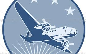 Free Airplane Travel Clipart Image