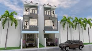 100 Narrow House Designs Sketchup Modern Design 35 X 18 Meter