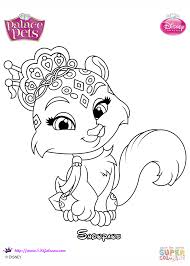 Click The Palace Pets Snowpaws Coloring Pages