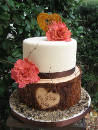 Rustic Wedding Cakes Gallery Picture