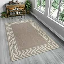 details zu teppich sisal optik flachgewebe modern wohnzimmer indoor griechisch bordüre