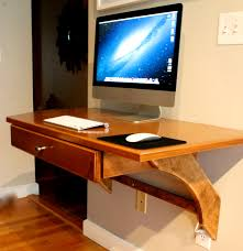 Wall Mounted Desk Ikea Hack by Bathroom Ravishing High End Floating Desk And Built Low Price