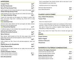 Menu for Olive Garden 5550 N Federal Hwy