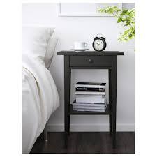 Woosley Tall Espresso 2 Drawer Nightstand Medium Size