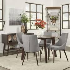 modern round dining room sets allmodern