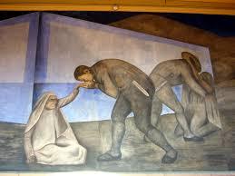 la despedida mural de josé clemente orozco colegio de san