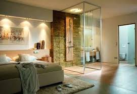 chambre salle de bain ouverte salle de dans chambre la salle de bain ouverte une tendance