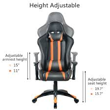 Gaming Chair Giantex Racing High Back Reclining Dxracer Rw106 Racing Series Gaming Chair White Ohrw106nwca Ofm Essentials Style Faux Leather Highback New Padding Ueblack Item 725999 Ascari Ai01 Black Office Official Website Pc Game Big And Tall Synthetic Gaming Chair Computer Best Budget Chairs Rlgear Shield Chairs Top Quality For U Dxracereu Details About Video High Back Ergonomic Recliner Desk Seat Footrest Openwheeler Simulator Driving Simulator Costway Wlumbar Support
