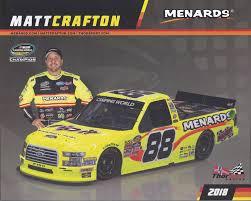 100 Menards Truck 2018 MATT CRAFTON RIP IT MENARDS THORSPORT 88 NASCAR