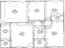 Barndominium Floor Plans 40x50 by House Plan House Plan Pole Barns With Living Quarters 40x50