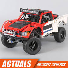 100 Bricks Truck Sales Genuine Technic MOC Series SUV Car Pickup Building