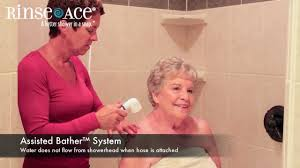 Rinse Ace Sink Faucet Rinser by Assisted Bather System By Rinse Ace Youtube