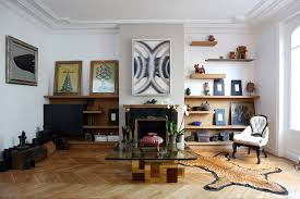Splendid Wooden Floating Shelves Decorating Ideas Images In Living Room Contemporary Design