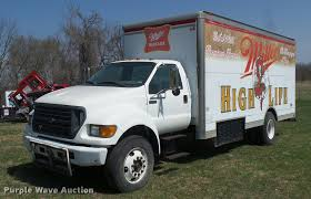 100 24 Box Truck For Sale 2000 D F750 Refrigerated Box Truck Item BH9272 SOLD