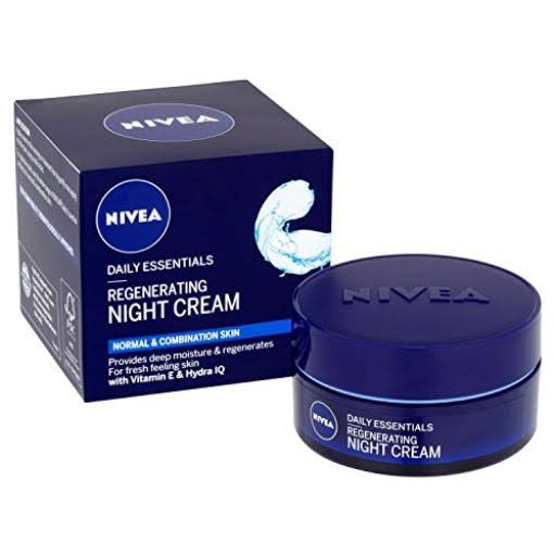 Nivea Daily Essentials Regenerating Night Cream - 50ml