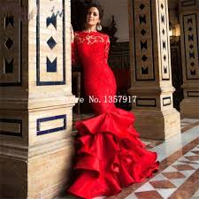 low back mermaid red prom dresses dress images