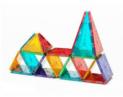 magna tiles clear colors 32 set from magnatiles another