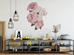 creatisto wandtattoo für schlafzimmer wohnzimmer küche i wandsticker wandaufkleber wanddeko i wanddesign design rosa
