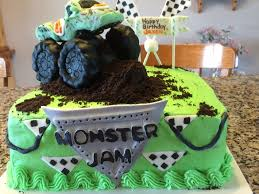100 Monster Truck Decorations This Cake And All Including Is 100