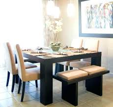Kitchen Table And Bench Round With Seat Medium Size Of Storage Dining Room