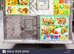 100 Vegan Food Truck Nyc New York City USA October 30 2017 Manhattan NYC Closeup Of