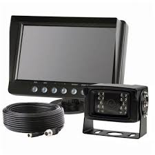 Truck Van Reverse Parking Exterior Camera Kit With 7 Inch Monitor ...